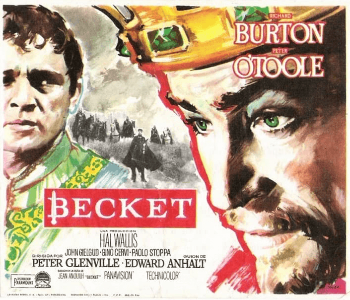 Poster for Becket film